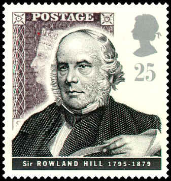 Great Britain 1995. Sir Rowland Hill.